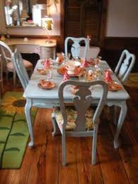 shabby chic dining room furniture beautiful pictures. Shabby Chic Blue Dinner Table Set Shabby Dining Room Furniture Beautiful Pictures