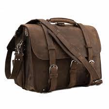 tiding men vintage genuine leather 17 inch laptop shoulder bag multi functional briefcase large travel weekend duffle bag p12072 messenger bags briefcase