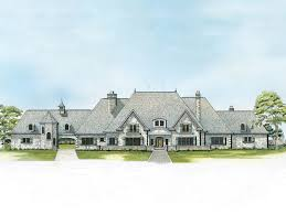 luxury house plan front of home 095s 0004 house planore