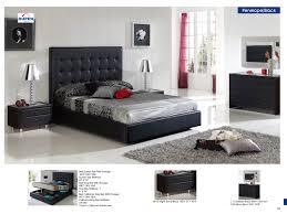 black modern bedroom sets. Beautiful Sets Bedroom Furniture Modern Bedrooms Penelope 622 Black M73 C73 B5 E96 Inside Black Sets N