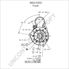Ms2 530d front dim drawing