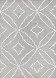 extremely gray white rug and designs