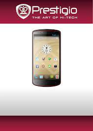 manual Prestigio MultiPhone 7500 (63 ...