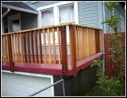 gallery deck railing corner posts diy home design furniture