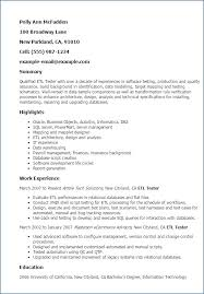 Software Testing Resume For Experienced Igniteresumes Com