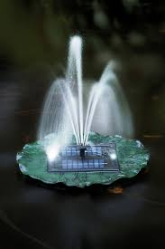 Floating Solar Garden Fountain Buy From Gardener S Supply