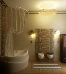 Splendid Ideas To Design Small Bathroom : Astounding Decoration For Small  Bathroom Design With Corner Soaking