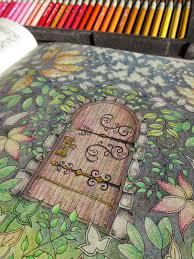 Secret Garden Colouring Book Lantern L