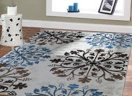 large rugs 8x10 blue area rugs 5x8 rugs blue cream brown