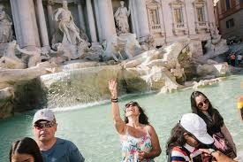 No Swimming Rome Braces for Summer of Tourists at Its Fountains.