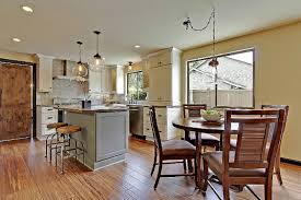 Open Kitchen Shaker Painted Cabinets Kitchen Design Pictures
