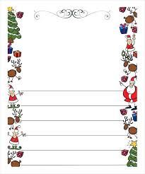 Free Letter From Santa Word Template Letterhead Paper Free Letter Template 9 Word Documents To