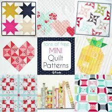 Free Mini Quilt Patterns U Create Classy Quilt Patterns