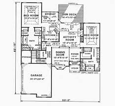 one story house plans with two master suites beautiful house plans with two master suites sumptuous
