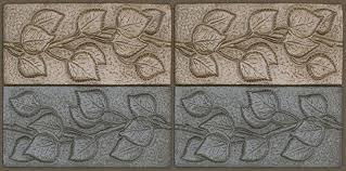 Decorative Relief Tiles The Leaf Tiles Terry Tiles 47