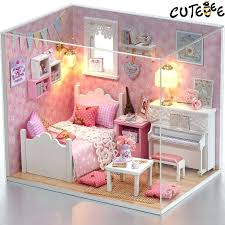 Barbie dollhouse furniture sets White Kitchen Table Diy Miniature Furniture Wholesale Doll House Furniture Miniature Dust Cover Wooden Dollhouse Toys For Wooden Barbie Flintwater Diy Miniature Furniture Homemade Doll Furniture Barbie Dollhouse