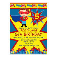 superheroes birthday party invitations superhero birthday invitations announcements zazzle