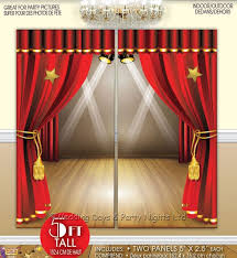 5ft hollywood scene setter decoration photo prop backdrop birthday party prom