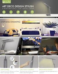 led office lamp. oxyled t35 dimmable led desk lamp eyecaring office with usb charging port modern touch control table portable for power bank laptop led l