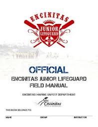 Official Encinitas Junior Lifeguard Field Manual By