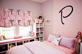 Pink And Brown Bedroom Decorating Pink Wall Theme And Brown Bed Cover On The Bed Added By White