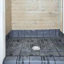 shower pan to tile over tile redi neo angle shower pan shower pan tile installation