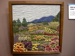 82 best Quilt, framed images on Pinterest | Projects, Crafts and ... & (High summer in Furano gorgeous framed quilt with embroidery Adamdwight.com