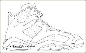 Coloring Sheet Jordans Shoes Coloring Sheets Shoes Coloring Pages