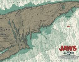 Anthony Petrie Jaws Chum Chart Officially Licensed Screen