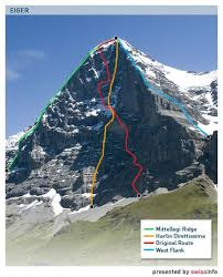 Below are several climbing shots on classic pitches of the 1938 route. Eiger Claims Two More Victims Swi Swissinfo Ch