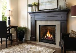 gas fireplace mantels ideas excellent design black mantel nice for intended surrounds