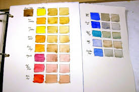 Thoughts On Shinhan Color Chart Wetcanvas