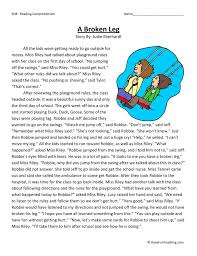 Reading Comprehension Worksheets | Have Fun Teaching