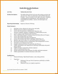 Job Description Of Medical Coder And Resume Cover Letter Examples
