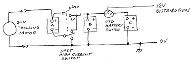 mixed 12 volt and 24 volt primary power with three batteries wiring diagram 24 volt relay schematic diagram of three batteries connected in a mixed 12 volt and 24 volt Wiring Diagram 24 Volt Relay