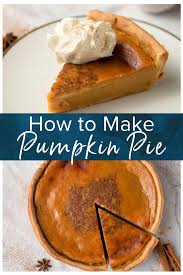 Wondering how to make pumpkin pie? It wouldn't be Fall without a Homemade  Pumpkin Pie recipe and this pie … | Homemade pumpkin pie, Pumpkin pie  recipes, Pumpkin pie