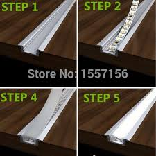 led strip lighting for kitchens. led recessed strip lights with aluminum channel and plastic lens led lighting for kitchens