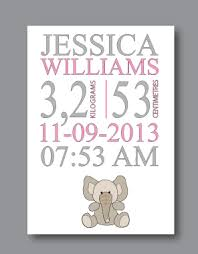 baby names wall art