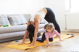 busy mom workout schedule