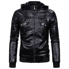 top 9 most popular <b>hooded leather jackets men</b> brown near me and ...