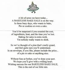 Bakeless Bake Sale Poems Yahoo Image Search Results Fundraising