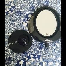 revlon other style by revlon battery operated make up mirror