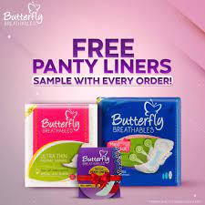 Butterfly Pakistan - Free panty liners sample | Facebook