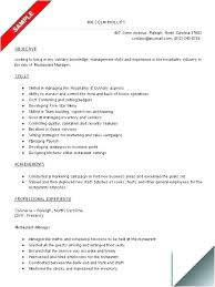 Free Examples Of Resumes Simple Some Examples Of Resume Sample Resumes For College Students Summer