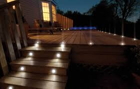 lighting for decks. Led Outdoor Deck Lighting. Recessed Lighting To Enhance Your Garden Decking Or Kitchen Plinth For Decks T