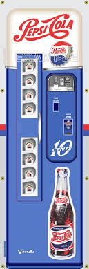 Pop Vending Machine Beauteous PEPSI COLA SODA POP OLD VINTAGE VENDO VENDING MACHINE STYLE BANNER 48
