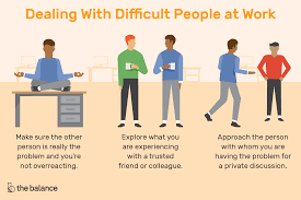 to deal with difficult people at work