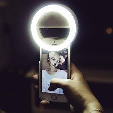 Soft Selfie Light Hampy Double Bright Soft White Color Selfie Ring Light