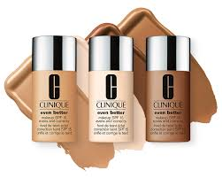 Clinique Skin Types Chart Clinique Even Better Foundation Color Chart