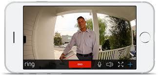 front door camera iphoneRing Video Doorbell for Your Smartphone